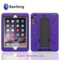 New Style Hard Plastic Smart Cover Case for Apple iPad Mini 4 Cell Phone Shell