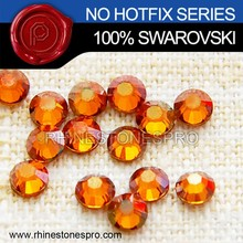Original Swarovski Elements Copper (COP) 7ss Flat Back Crystal Non HotFix