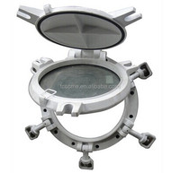 Marine brass porthole windows