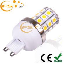 Mini style led light 85-265V G9 halogen lamp socket led g9 bulb g9