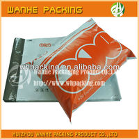 Plastic LDPE colorful poly bag for garment packing