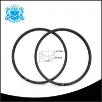27.5er carbon bicycle clincher high quality mtb bike rim