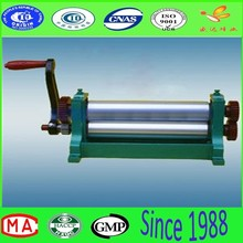 Hot sale beeswax flat sheet machine with manual aluminum alloy