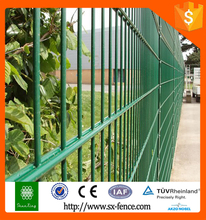 china supply powder coated galvanized double wire pet fence