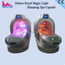 Delux Royal Far Infrared colorful light spa capsule body shaper