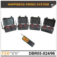 500 M remote control system ,96 cues fireworks firing system,sequential function, happiness fireworks system(DBR05-X24/96)