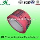 Logo Bopp impressos personalizados de fita adesiva com cola forte