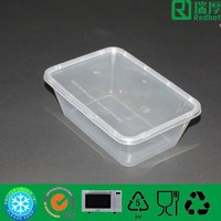 Lunch box with lid microwave food container package for food 750ml