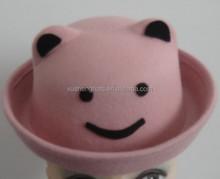 100% wool felt children anmail hat