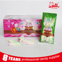 Colorful sweet taste good twist candy marshmallow