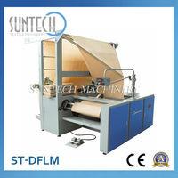 ST-DFLM flat lapping machine,textile folding machines,fabric winding machine