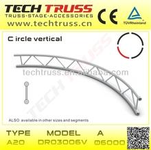 A20-DR03006V circle perform truss system/ high quality flat circle perform truss system