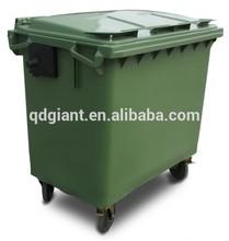 660l móvil de basura bin/wheelie bin/papelera de reciclaje