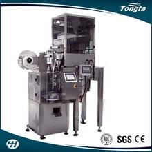 wholesale 3 side sealing tea infuser with envelope slimming tea /black tea/ Green tea bag packing machine