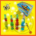 Tapa del verano de Cola botella de agua / burbuja de jabón con Cola silbato de juguete Bottle / 35 ml burbuja Cola del juguete