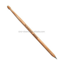 Affordable Novelty Wooden Drum Stick Pen