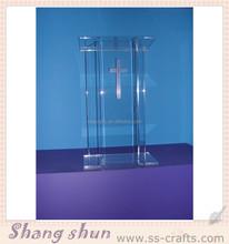 Wholesale Acrylic Clear Lectern/ Acrylic Rostrum/ Custom Acrylic Dais