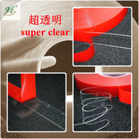 10 mm X 33 M Or Customized 3M Similar Clear Acrylic Waterproof Marine Adhesive Tapes