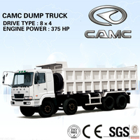 CAMC 8x4 heavy tipper trucks for sale with good quality (payload 40-60ton)