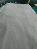 Red oak spliced veneer/edge joint for furniture