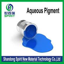 blue water based pigment for ink