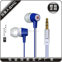 plastic earbuds with factory price and free sample offered