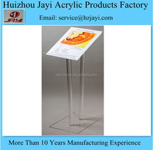 Factory wholesale acrylic conference lectern podium pulpit