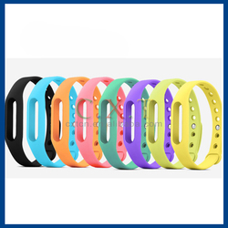 Original colorful silicone strap replacement for Xiaomi Mi Band MiBand Waterproof Wrist Band