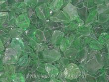 Green Broken Glass Cullet