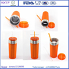Hot sale Newest Sippy Cup With Straw and Steel Ring Thermal Tumbler With Glue Spray Manufactory