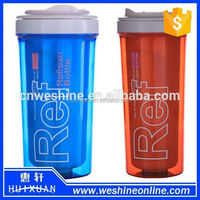 Classic starbucks coffee mug/ double layer water tumbler leak-proof lid/screw lid coffee mug