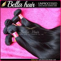 Aliexpress hair wholesale 6a 100% virgin hair weft virgin remy brazilian micro loop hair extensions