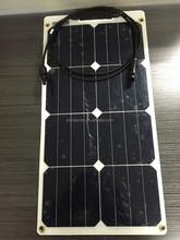 15W,25W,65W,115W,135W,155W,185W High Efficiency Bendable PV Module/flexible solar panel/Mono panel