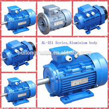 aluminium frame IE1 three phase induction AC motor H160 IEC 60038 CE 380V B3 mounting electric motor