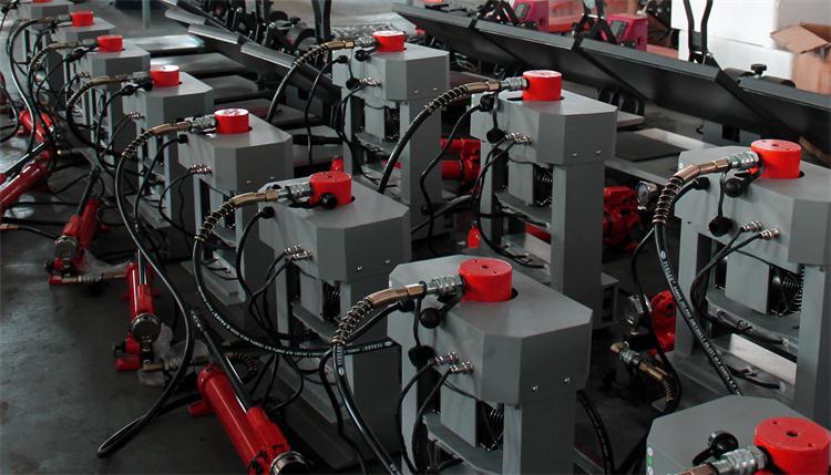 Meilleur Prix 20 Tonnes Double Chauffage Plaques Manuel Colophane Tech Chaleur Presse Hydraulique Colophane Presse