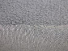 Polyester spandex stretch fabric backside bonded polar fleece fabric