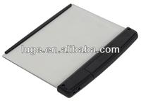 3 LED transparent flat panel book light