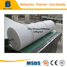 Actual factory for high-temperature pipe wall lining materials ceramic fiber blanket