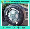 Hot sale portable inflatable tire arch