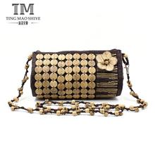 Fashion natural ladies coconut shell designer handbag manufacturers