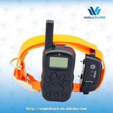 New Dog shock collar Waterproof Remote Dog Trainer with 2 Years Warranty