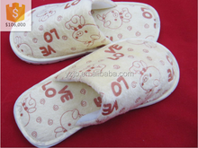 High quanlity children closed toe slippers kids indoor slippers