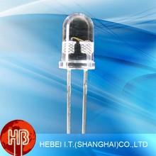 Super Brightness 5mm 12v Oval/Strawhat/Round/Head Led Light Emitting Diode