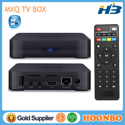 2015 Wholesale TV BOX MXQ S805 Quad Core Android TV BOX
