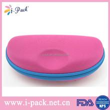 Manufacturer of custom EVA fancy color sunglasses case,soft fabric eyeglasses case