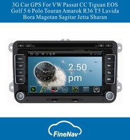 "7"" Android4.0 Car DVD For VW Jetta Sagitar Caddy Touran Passat B6 CC Scirocco SEAT Leon Fabia Golf 5 6 Amarok Tiguan R36"