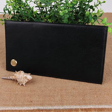 Leading Supply Casual Genuine lichee Leather Men's Wallets
