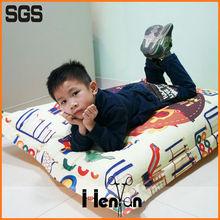 custom printed baby bean bag chair with harness, giant beanbag