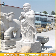 Natural Granite Laughing Buddha Carving