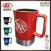 New promotional high quality custom 16oz square white ceramic mug low price